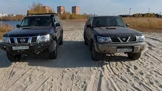 Подготовленный Nissan Patrol V (Y61) ZD30 сравнение со стоковым Nissan Patrol V (Y61) RD28