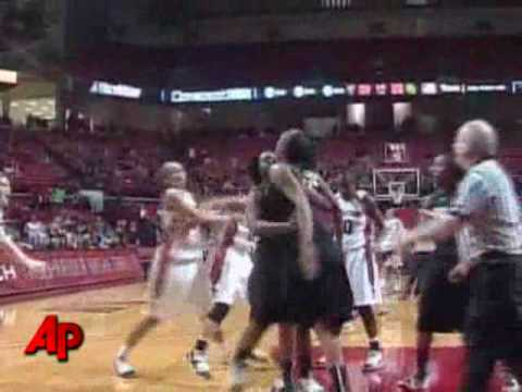 Raw Video: Women's Basketball Brawl - YouTube