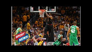 Les Cavaliers de LeBron James écrasent Boston et relancent le suspense