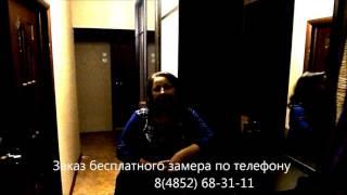 видео Маскируем щель между шкафом и стеной