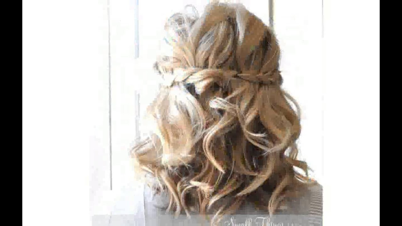 cute short hair styles for prom - youtube