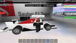 Finding the worst Formula 1 game on Roblox #1
