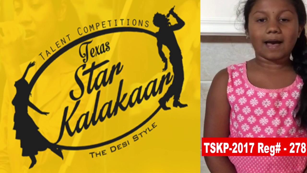 TSKP-2017 Reg#  278 -Texas Star Kalakaar 2017