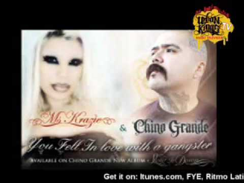"""Chino Grande and Ms Krazie """"You Fell In Love With A Gangster"""" in stores now!"""
