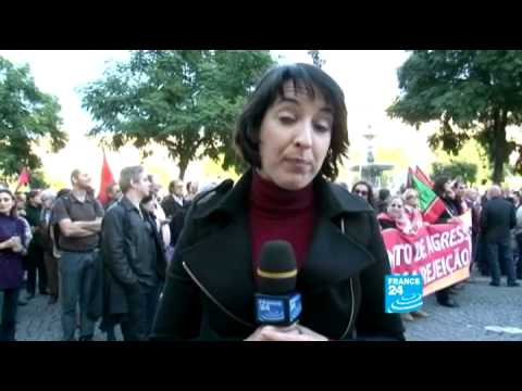 Financial crisis - Anti-austerity general strike paralyses Portugal