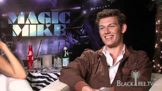 Magic Mike Interview with Alex Pettyfer (The Kid) and Cody Horn