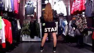 Саша Спилберг & Black Star Shop #spilbergstyle + Туса С Black Star Mafia