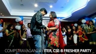 Repeat youtube video Juniors Proposing Seniors - ITER Fresher's Party