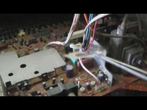 видео: Ремонт старенького телевизора sharp