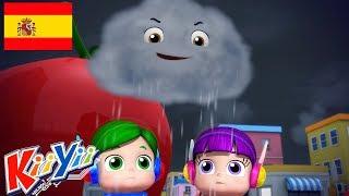 Canciones Infantiles | Lluvia, Lluvia, Vete Ya | Dibujos Animados para Niños  | KiiYii en Español