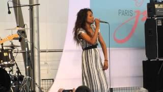 """Ester Rada - """"Nanu Ney"""" - 21ème ed. Paris Jazz Festival - (28/06/2015)"""