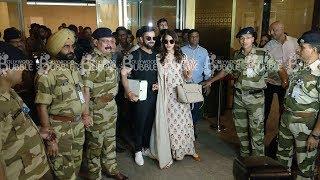 Anushka Sharma - Virat Kohli Spotted at Mumbai Airport