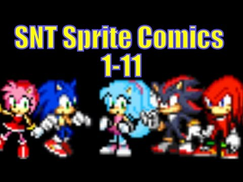 SNT Sprite Comics #1-11 - No Commentary Version