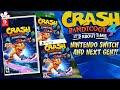 В файлах Crash Bandicoot 4: It's About Time нашли очередные намеки на версию для Switch