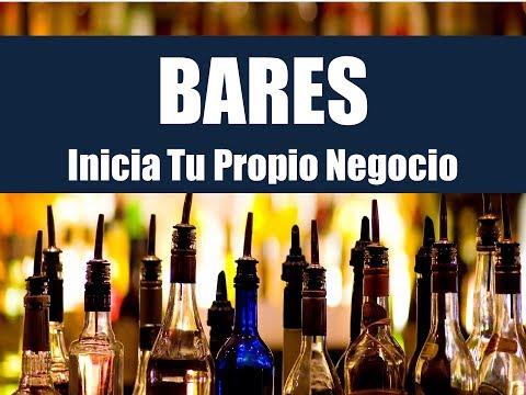 Como Iniciar Tu Bar: Curso De Negocios