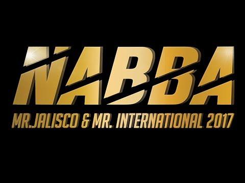 Resumen NABBA Mr Jalisco 2017