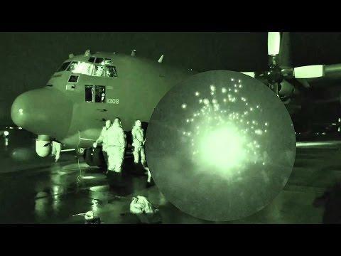 AC-130W Stinger II Flying Gunship - GAU-23 30mm Live Fire Exercise