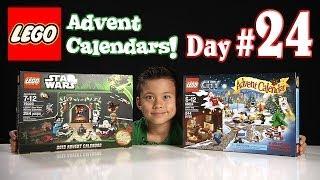 LEGO CITY Advent Calendar & LEGO STAR WARS Advent Calendar DAY 24 - 2013 Set 60024 & 75023
