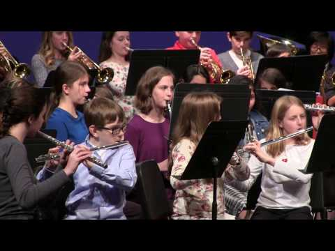 Twality Middle School Band Fall Concert 2016