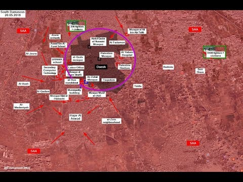 Group ISIS has passed the camp Yarmouk