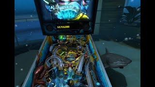 Pinball FX2 VR (PSVR) Shark Attack [No commentary, 1080p, 60FPS]