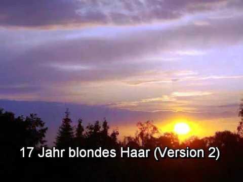 17 Jahr blondes Haar (Rock-Version 2).wmv