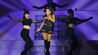 Repeat youtube video Ariana Grande The Full HD 1080P Honeymoon Tour at The Barclay Center in Brooklyn