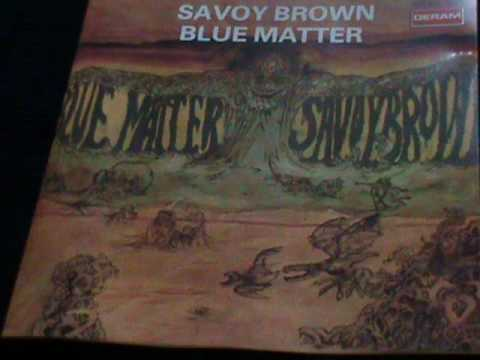 Savoy Brown-Blue Matter