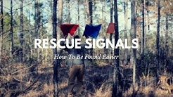 How to Signal for Rescue