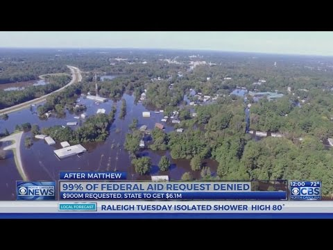 99 percent of Hurricane Matthew aid requested by NC denied by Trump administration