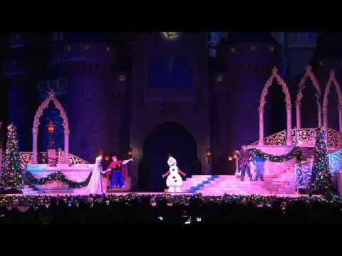 A Frozen Holiday Wish at Magic Kingdom Park Walt Disney World Resort