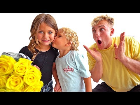 WE FOUND MINI JAKE PAUL A GIRLFRIEND?!