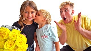 WE FOUND MINI JAKE PAUL A GIRLFRIEND?