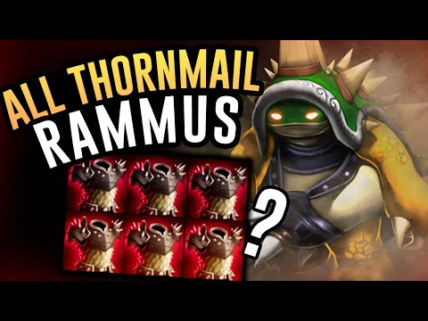 RAMMUS WITH NOTHING BUT THORNMAIL?! - Rammus Jungle - League Of Legends