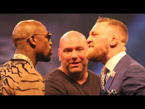 FLOYD MAYWEATHER v CONOR MCGREGOR FULL LONDON PRESS CONFERENCE & MEDIA QUESTIONS