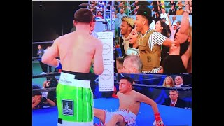 WHOA! DANNY GARCIA  DESTROYS ADRIAN GRANADOS BY KNOCKOUT FULL FIGHT HIGHLIGHTS COMMENTARY