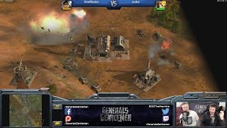 Epic Game - GenMaster(Laser) vs scuba(Demo) [Command & Conquer Generals Zero Hour]