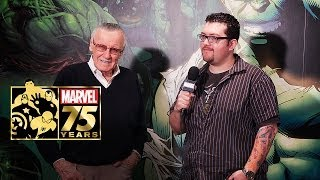 Marvel 75th Anniversary: Stan Lee Interview