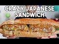 EPIC Gyoza Ramen Onigiri Tonkatsu Sandwich