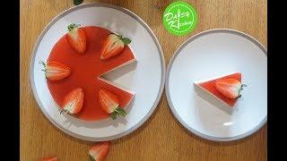 Strawberry mousse cake recipe - Cách làm bánh mousse dâu tây