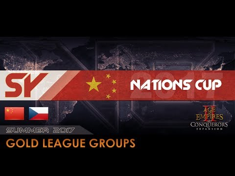 China SY vs Czech Republic A | Nations Cup 2017 - Gold Groups