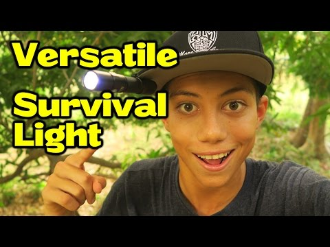 My New Survival Flash Light - ThruNite Archer 1A V3 Review