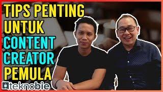 Tips Penting buat Content Creator Youtuber Pemula