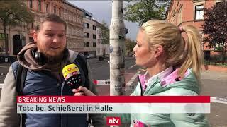Augenzeuge berichtet aus Halle -