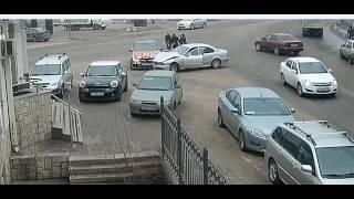 Воронеж  ДТП и драка на дороге! ул  Транспортная