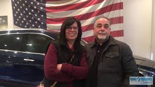 King ORourke Reviews: Testimonial by Ann and Dominic about a 2019 Cadillac XT4