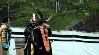 第四回鬼小十郎祭りに戦国BASARAで小十郎役を演じてくれている森川智之...