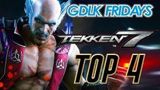 Tekken 7 - TOP 4 @ GDLK Fridays + Commentary August 23, 2019 [1080p/60fps]