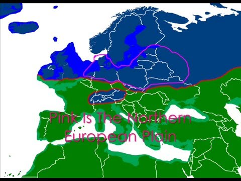 Northern European Plain And The Ice Age