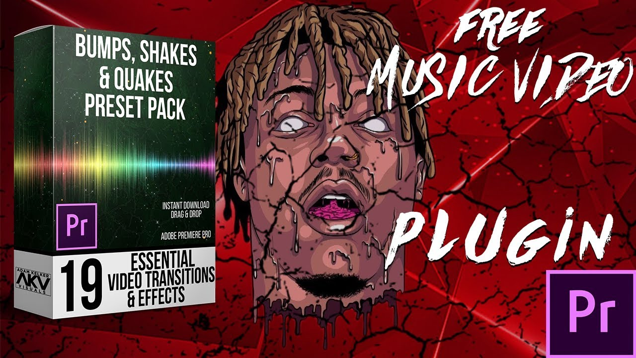 BEST FREE MUSIC VIDEO TRANSITIONS AND EFFECTS PRESET PACK| ADOBE PREMIERE  PRO CC 2019 TUTORIAL